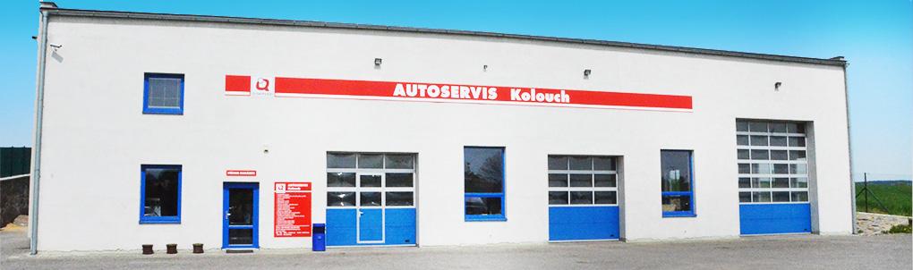 Autoservis Kolouch Měřín - Pohled na dílnu