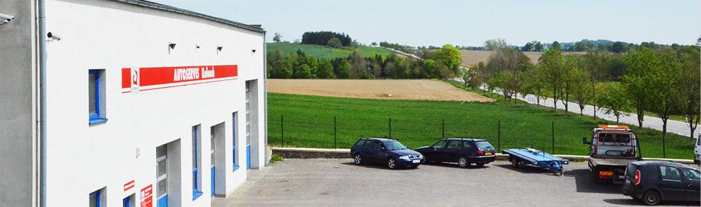 Autoservis Kolouch Měřín - Pohled od Měřína směrem na Stráneckou Zhoř